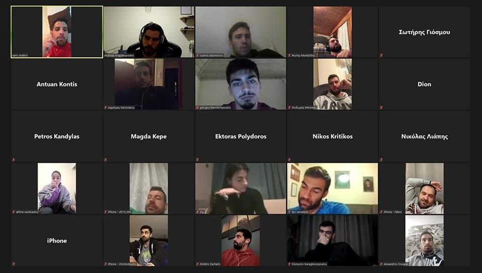 Τηλεδιασκέψεις του ΠΣΑΧ με Εκπροσώπους Ομάδων